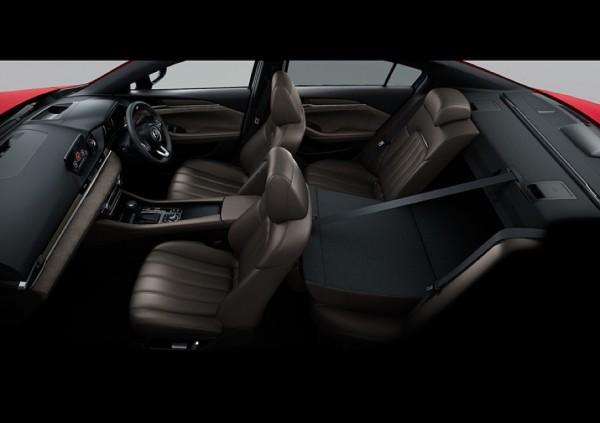 Салон обновленной Mazda 6