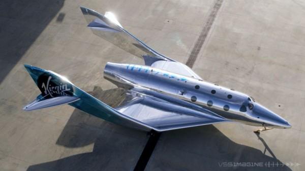 VSS Imagine имеет тот же базовый план корпуса, что и VSS Unity от Virgin Galactic, космический корабль SpaceShipTwo. Но новый космический самолет имеет некоторые улучшения, улучшающие характеристики, а также другую, похожую на зеркало ливрею