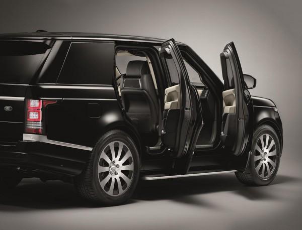 Бронированный Range Rover