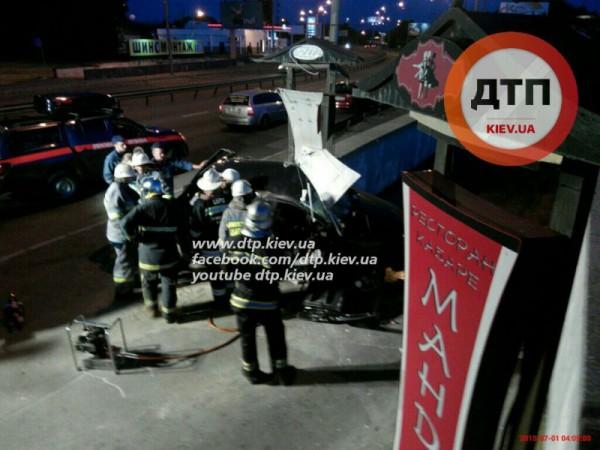 Смертельное ночное ДТП в Киеве