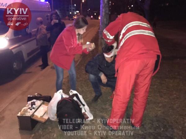 В результате аварии пострадал водитель Daewoo и пассажир.