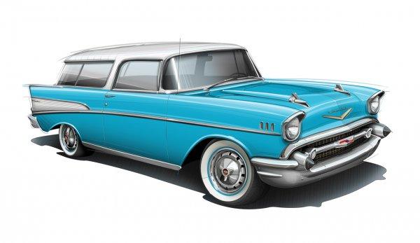 Chevrolet Bel Air Nomad– $100 500