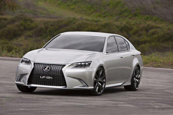 Новый концепт Lexus – седан LFGh