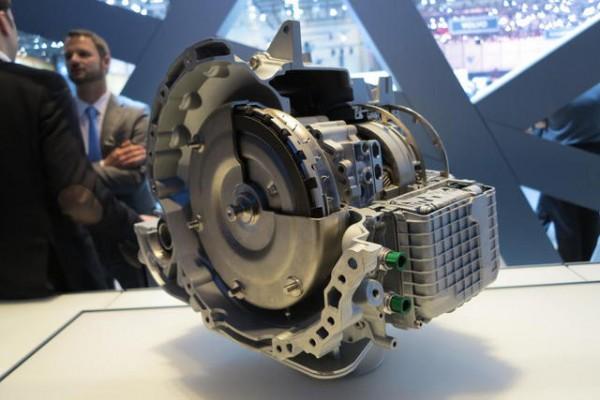 Автоматическая коробка передач ZF9HP с 9 ступенями