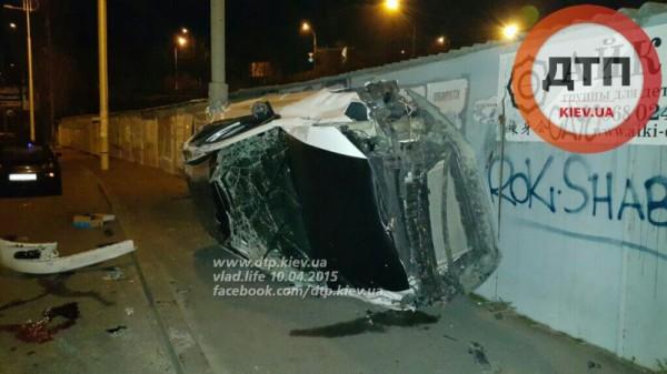 В Киеве произошла серьезная авария