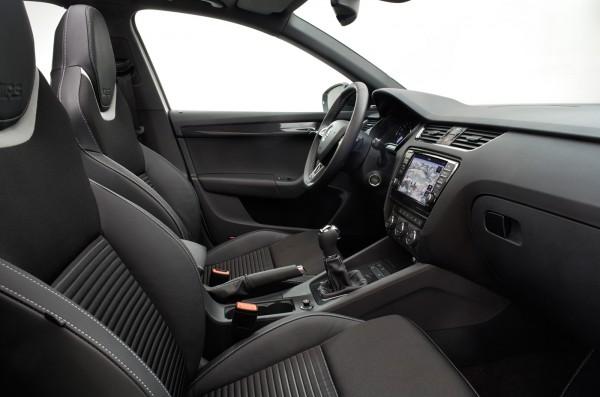 Новая Skoda Octavia RS (vRS)