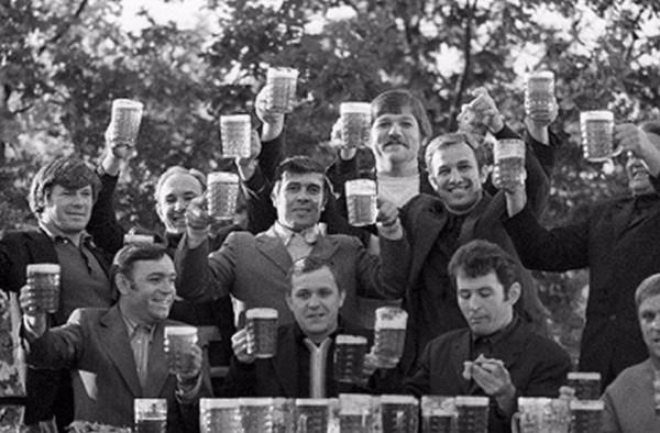 Пиво да мужики