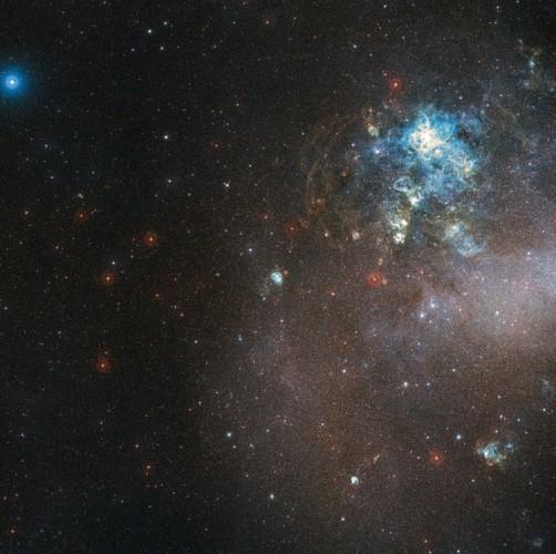 Пузыри возле молодых звезд