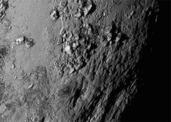 Один из снимков New Horizons