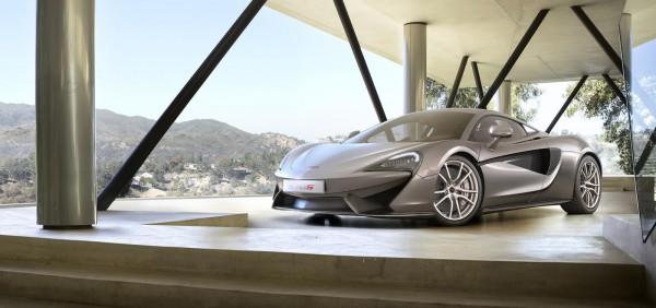 Спорткар McLaren 570S