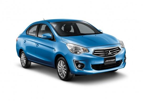 Mitsubishi Attrage - потенциальный конкурент Hyundai Accent