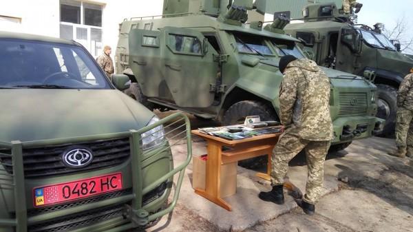 Показ состоялся на полигоне воинской части в Бердичеве.