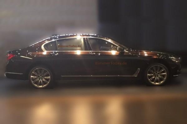 Первый снимок нового BMW 7-Series