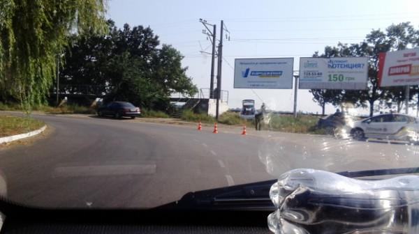 В Одессе произошло первое ДТП с участием патрульной полиции