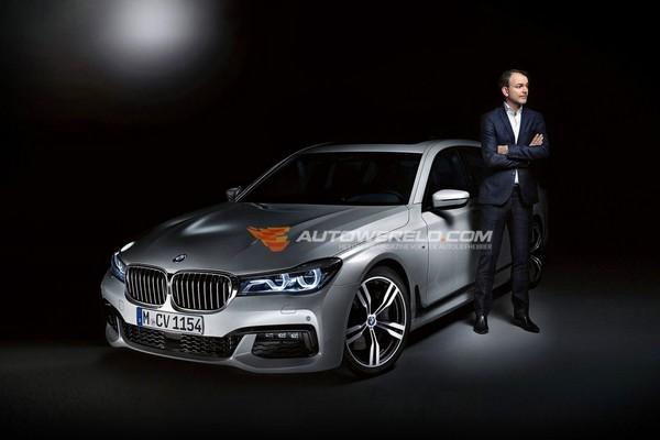BMW 7-Series рассекретили до премьеры
