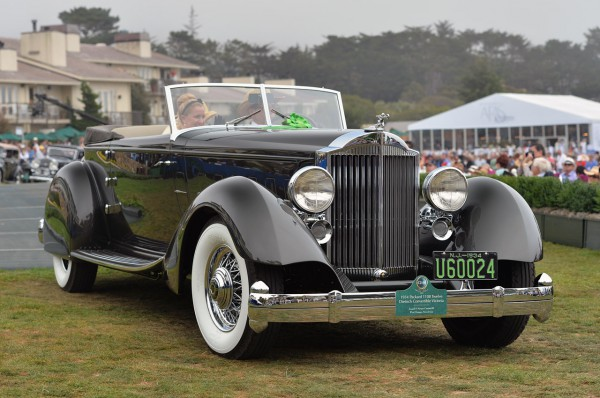 1934 Packard 1108 Twelve Dietrich Convertible Victoria признали самым красивым