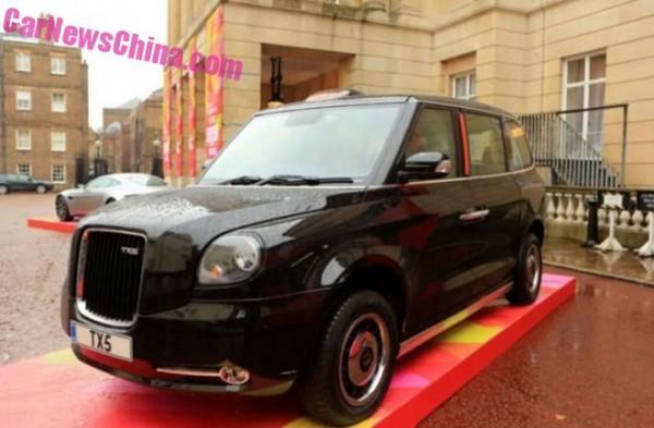 Новые лондонские такси