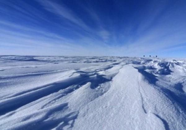 В Антарктиде нашли след метеорита