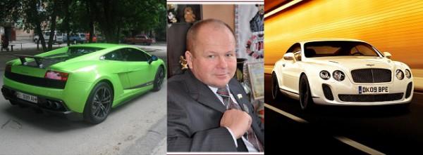 Александр Подоляка из Полтавы владеет одними из самых дорогих машин в Украине