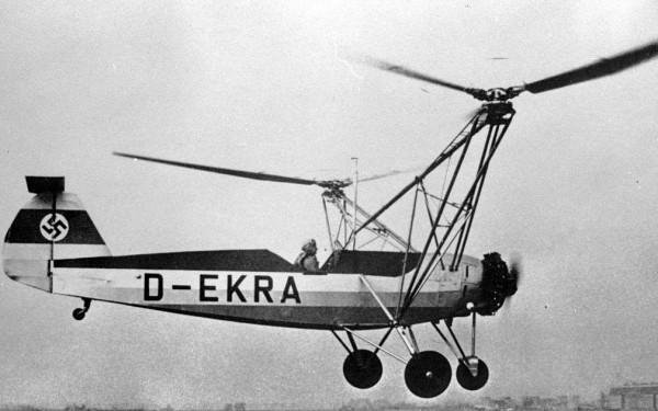 Первый вертолет Focke-Wulf Fw 61
