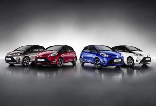 Варианты расцветок Toyota Yaris для 2017 модельного года