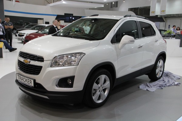 SIA 2013: Chevrolet Tracker  - от 189 900 грн