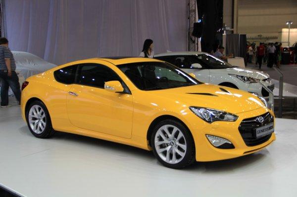 Hyundai Genesis Coupe F/L