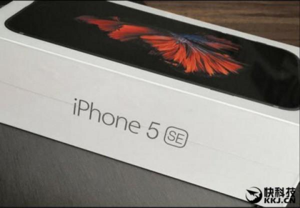 Утечка фото упаковки iPhone 5se