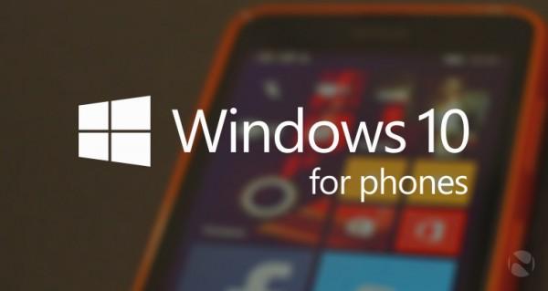 Windows 10 уже доступна для телефонов