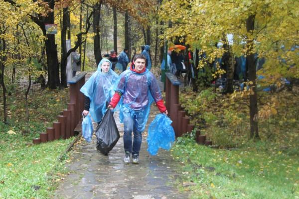 Акция Очистим планету от мусора