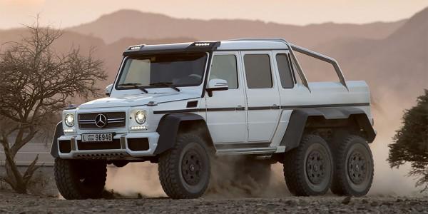 Mercedes Brabus G63 AMG 6x6