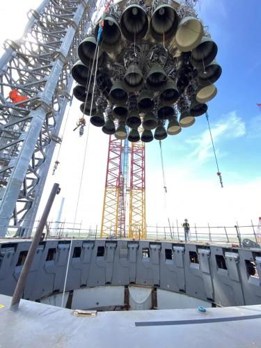 Двигатели ракеты SN20