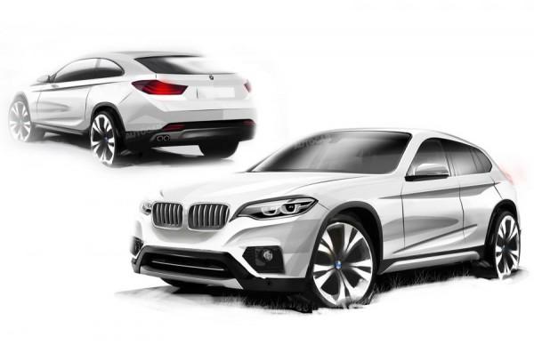 Примерный облик BMW X2