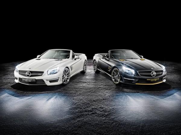 Mercedes-Benz SL63 AMG World Championship 2014 Collector's Edition от Росберга и Хэмилтона
