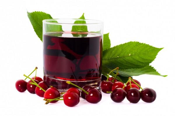 Вишневый сок - от усталости в мышцах