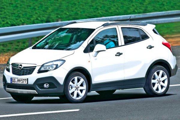 Неофициальная иллюстрация Opel Mokka