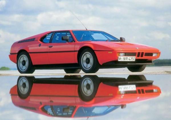 Оригинальный BMW M1, который выпускали до 1981 года