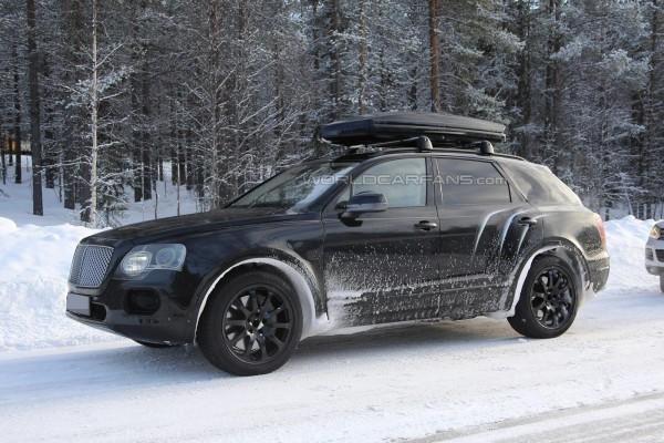 Испытания Bentley Bentayga