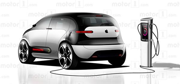 Примерно так будет выглядеть iCar