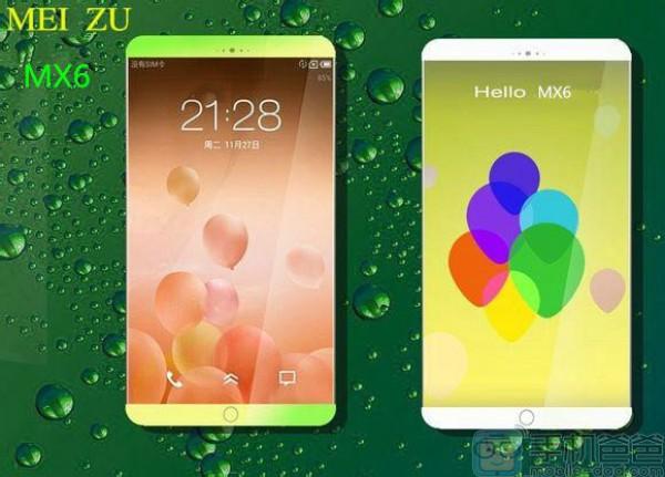 Концепт смартфона Meizu MX6