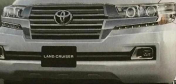 Первое изображение обновленного Land Cruiser