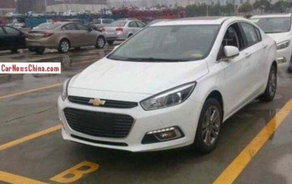 Так выглядит новое поколение Chevrolet Cruze