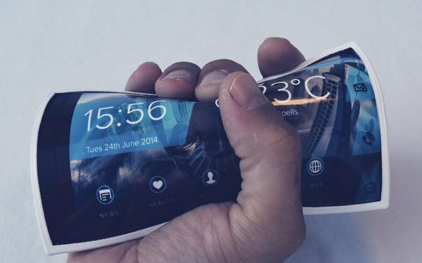 А говорили, что смартфоны не гнутся...