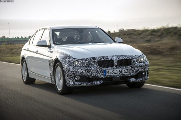 Прототип BMW 3-Series Plug-in hybrid
