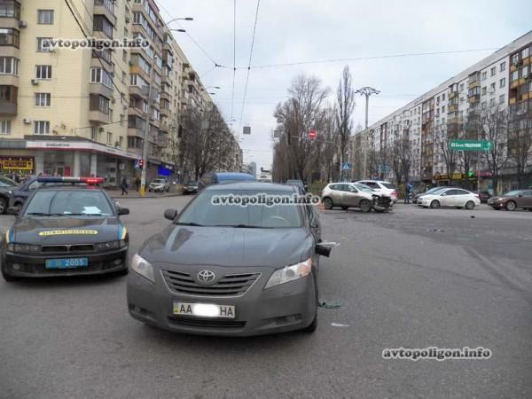 Авария на Леси Украинки