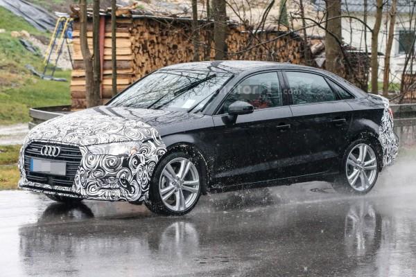 Шпионы сфотографировали обновленную Audi A3