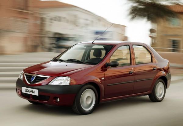 Dacia Logan - самый ненадежный автомобиль по данным TUV