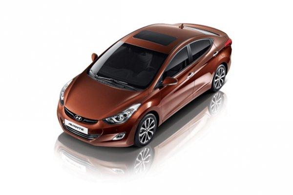 Обновленный седан Hyundai Avante (Elantra)