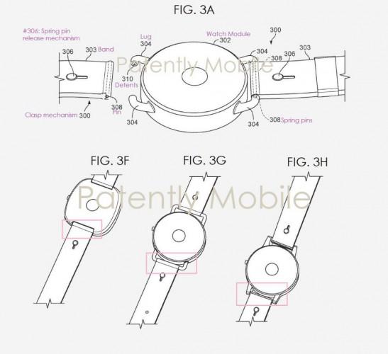 Патент на часы