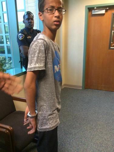 Ахмеда Мохаммеда арестовали за часы